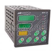 Микропроцессорный регулятор МИК-21 (вид спереди)