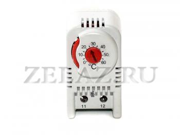 Терморегулятор (термостат) для обогревателей шкафов автоматики - фото